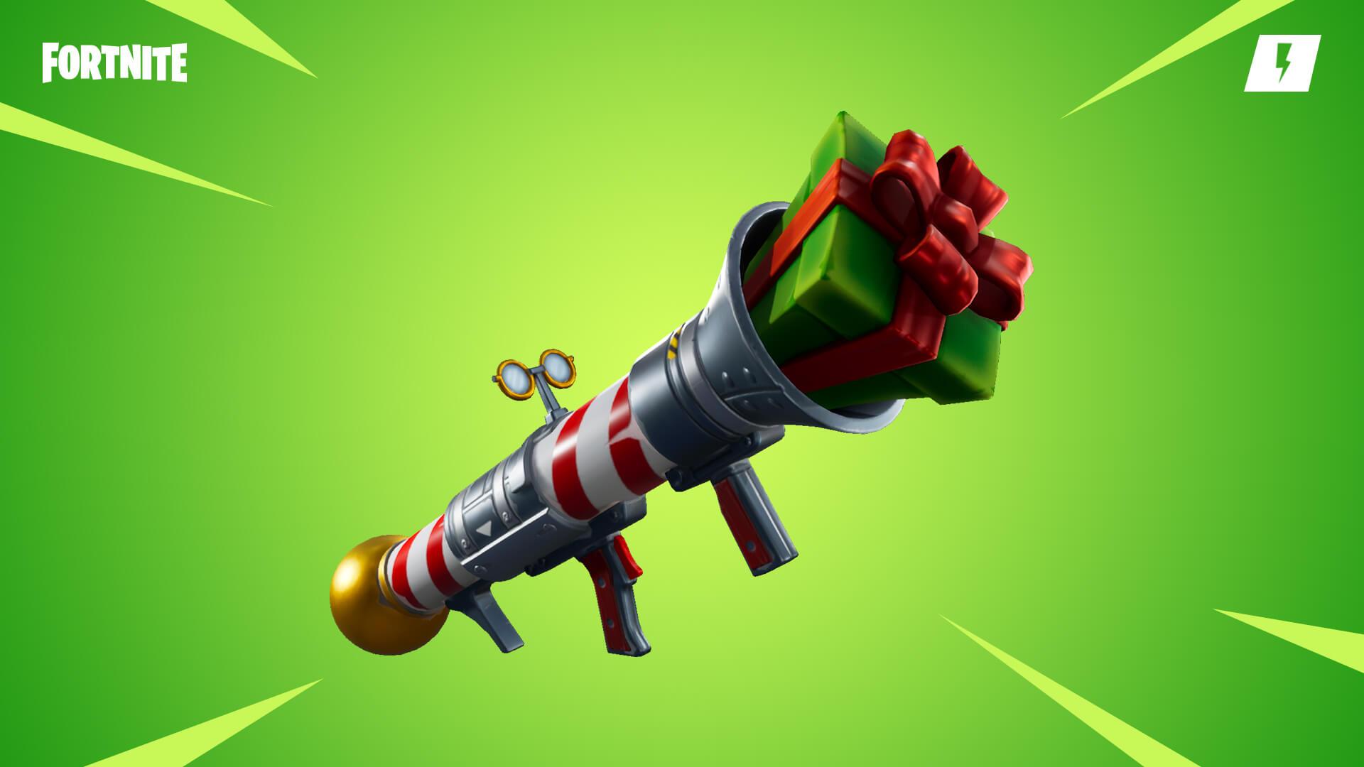 Fortnite Save the World Santa's Little Helper Launcher