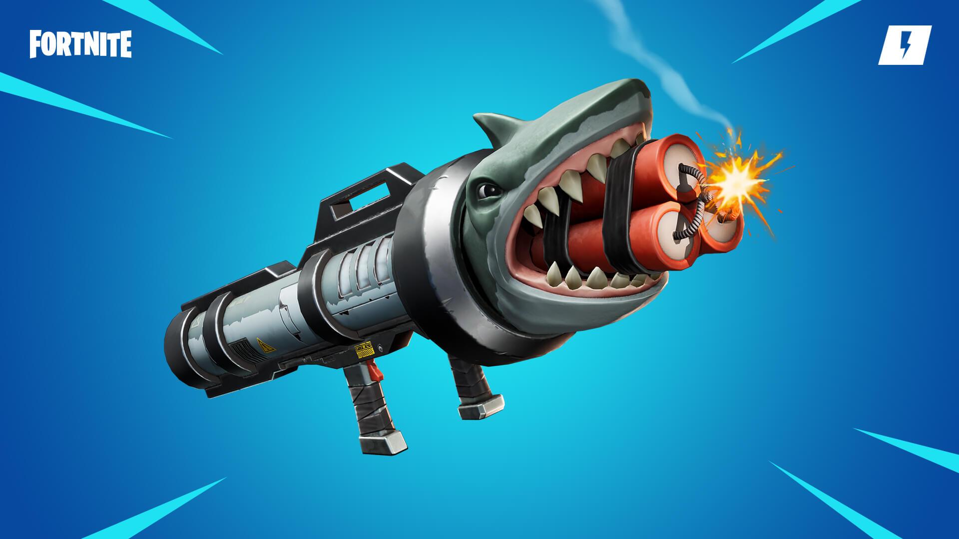 Fortnite Save the World Shark Attack Launcher