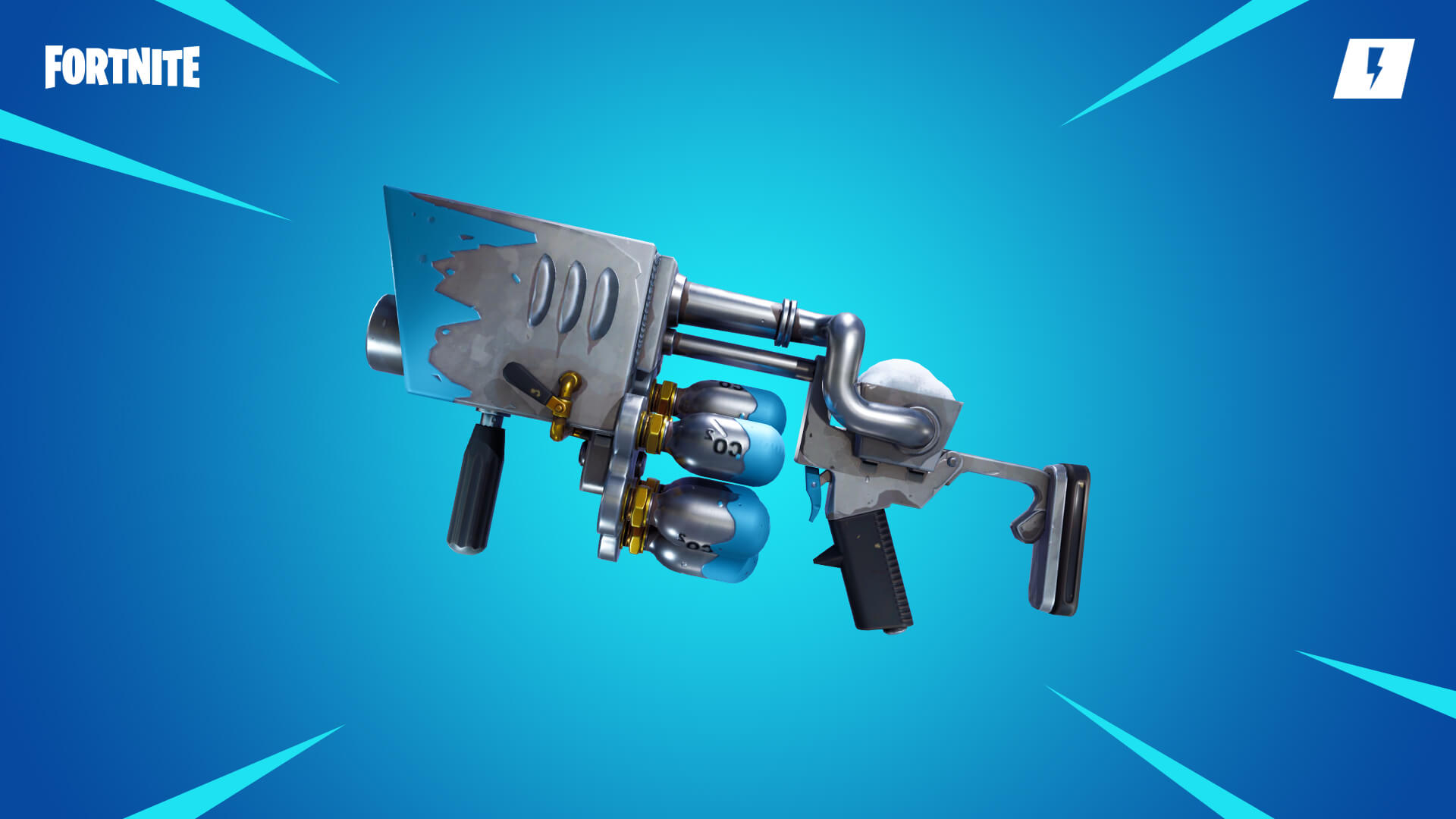 Fortnite Save the World Snowball Launcher Weapon