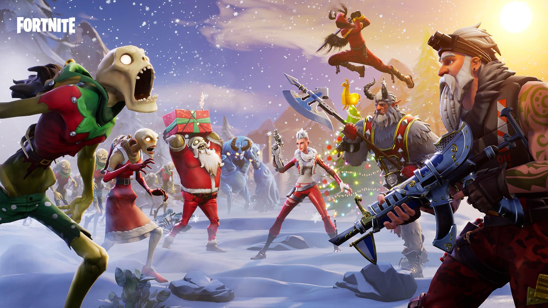 Fortnite Rette die Welt Winterfest-Unterfangen