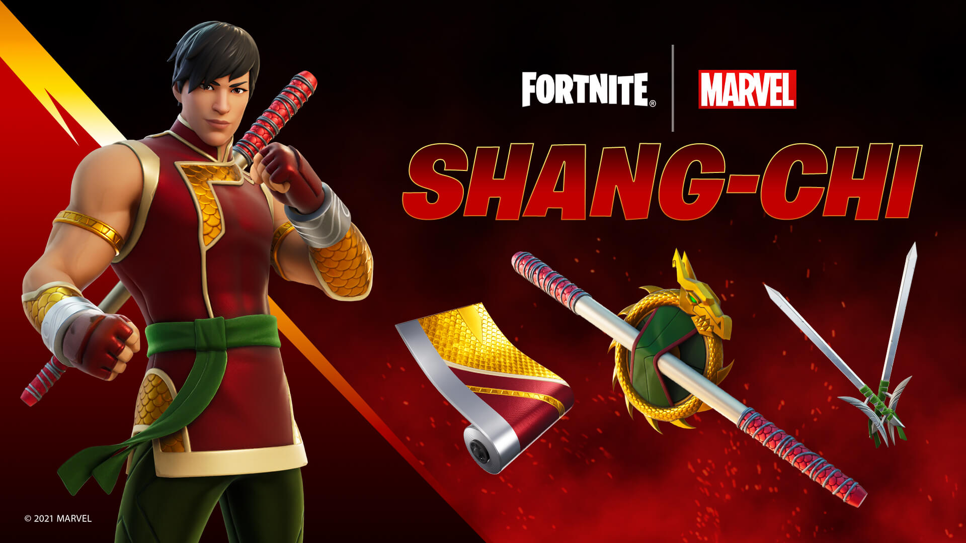 Zestaw Shang Chi w Fortnite