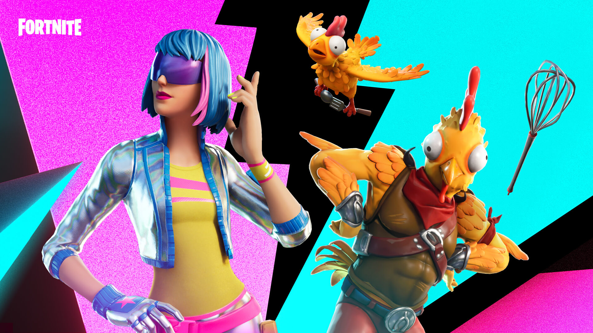 Fortnite Shimmer And Tender Defender Outfits