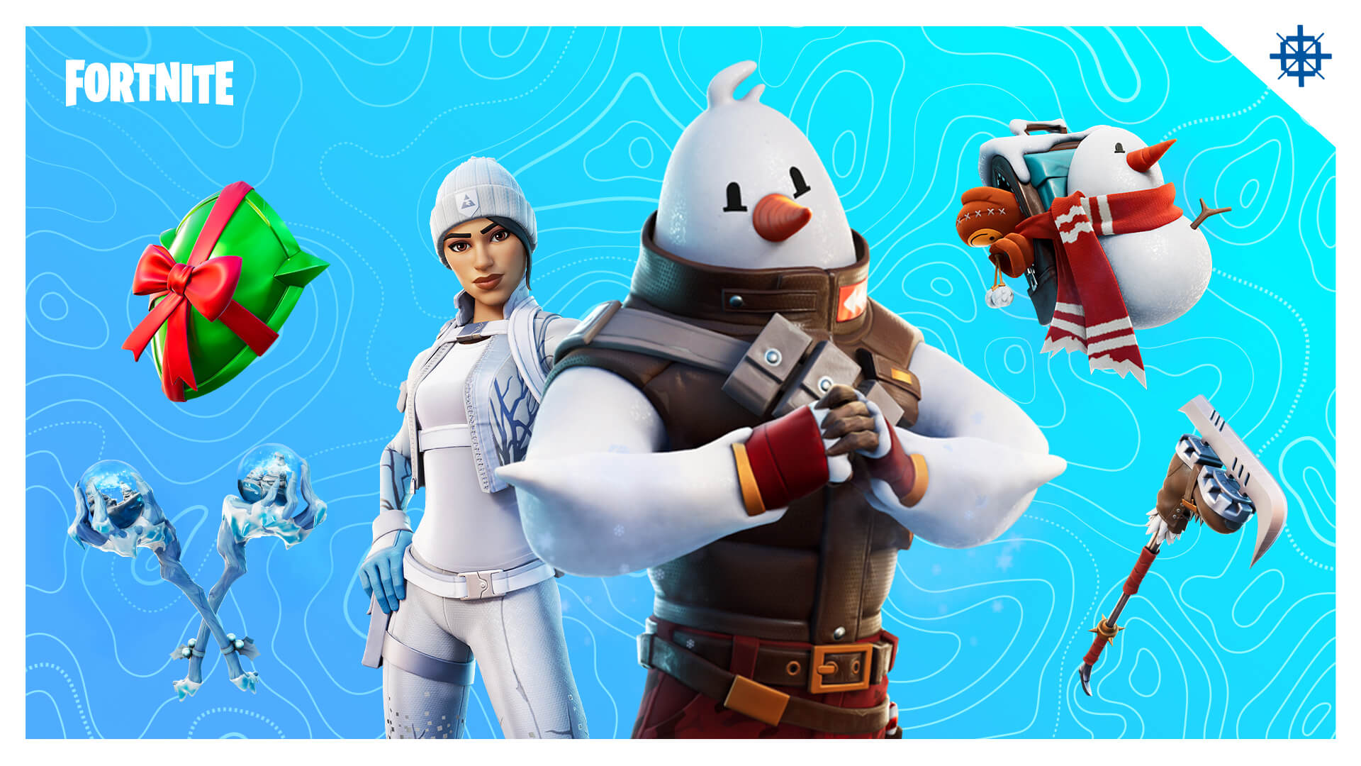 Fortnite Snowmando Quest Frost Squad And Snowmando Outfits