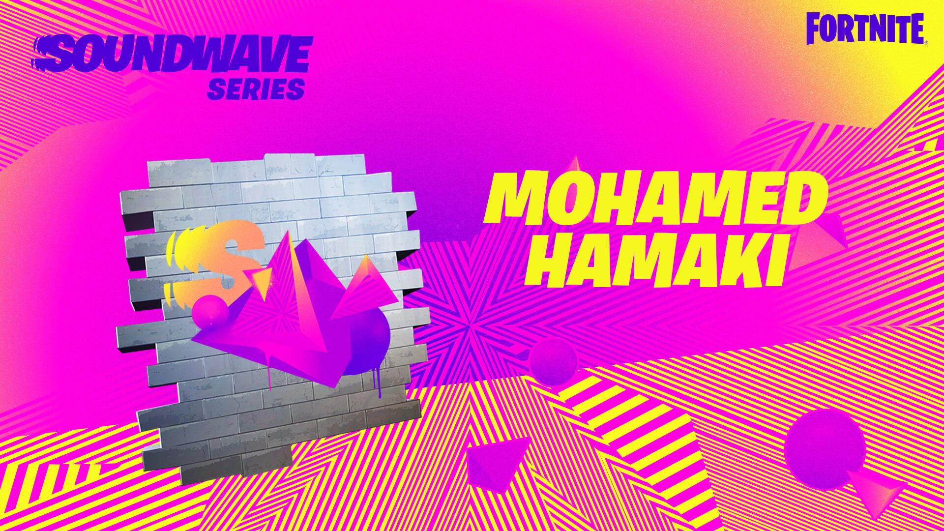 Fortnite Soundwave Series - Hamaki Spray