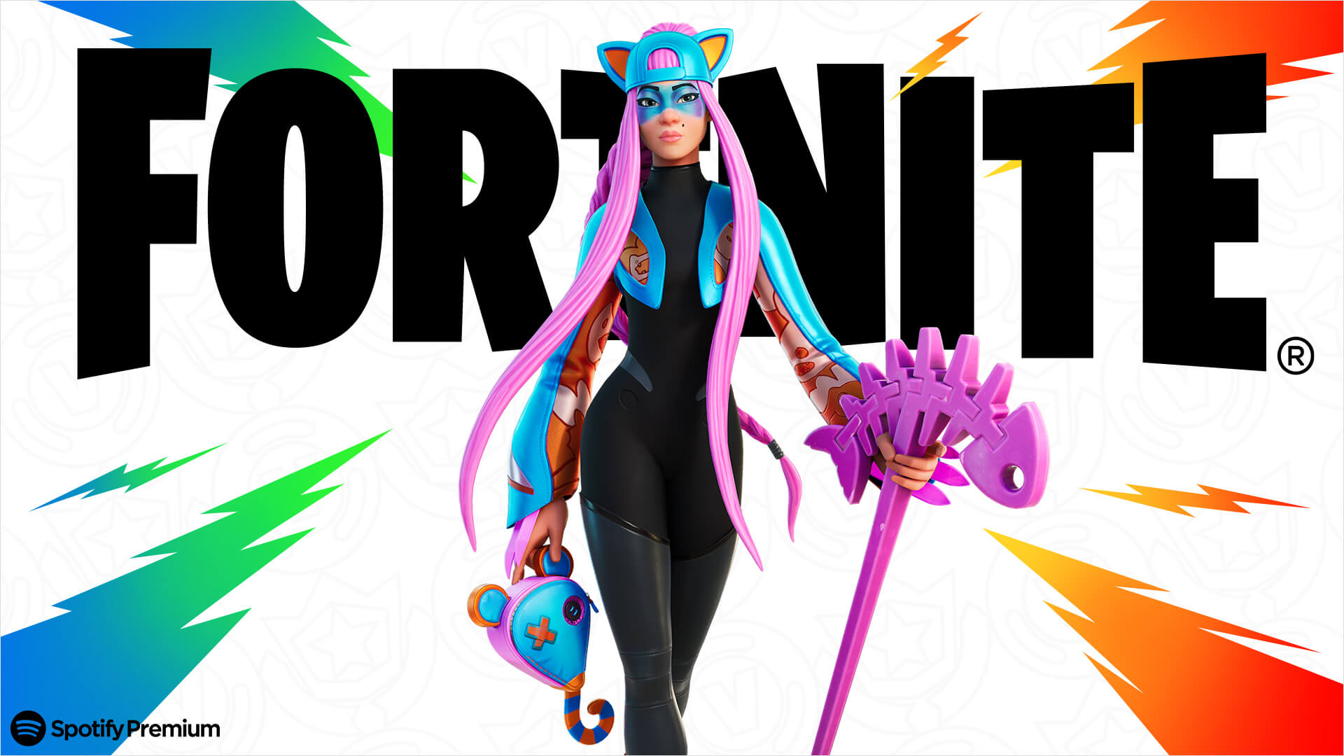 Fortnite Spotify Premium Promotion