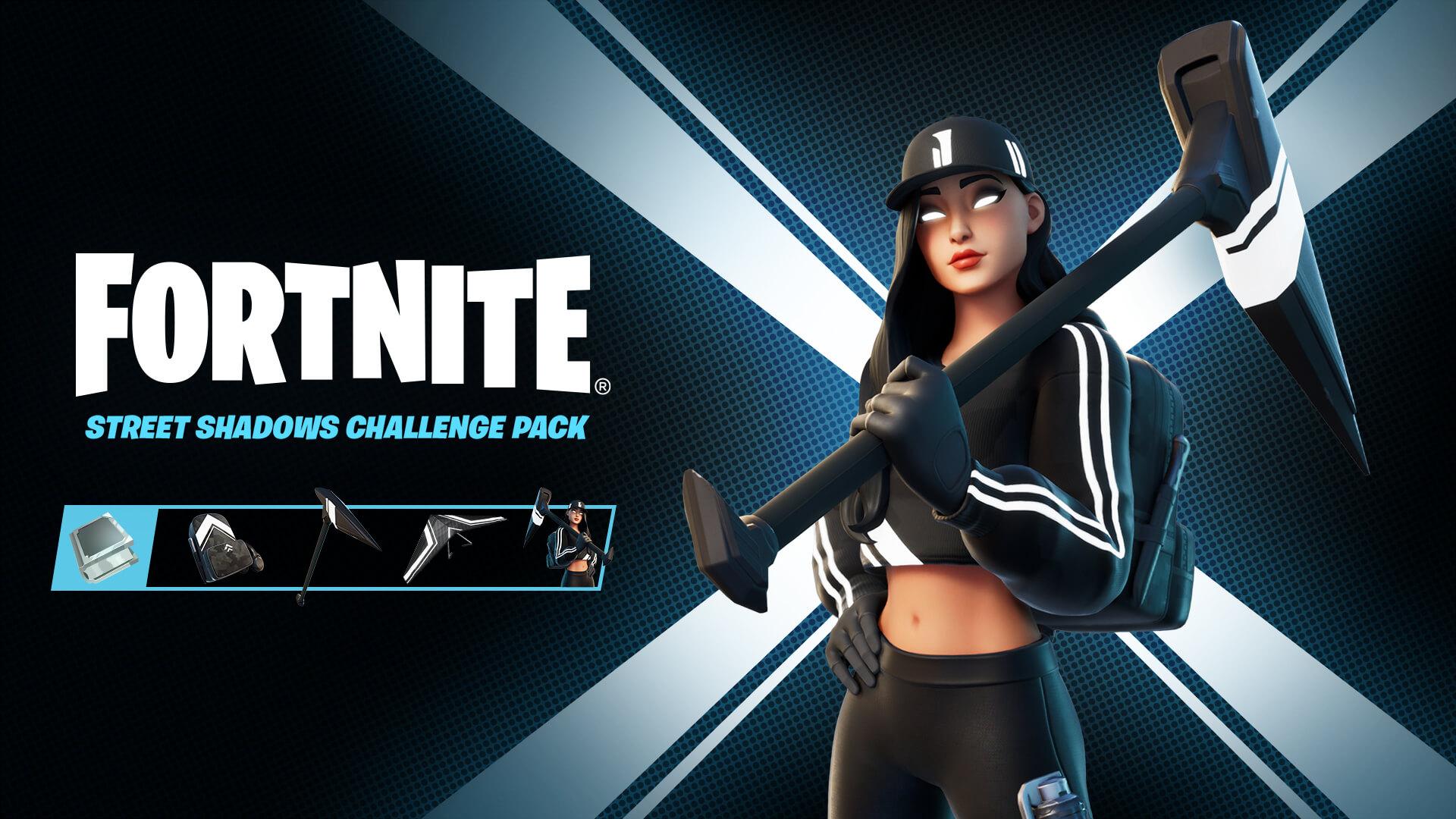 Fortnite Street Shadows Challenge Pack