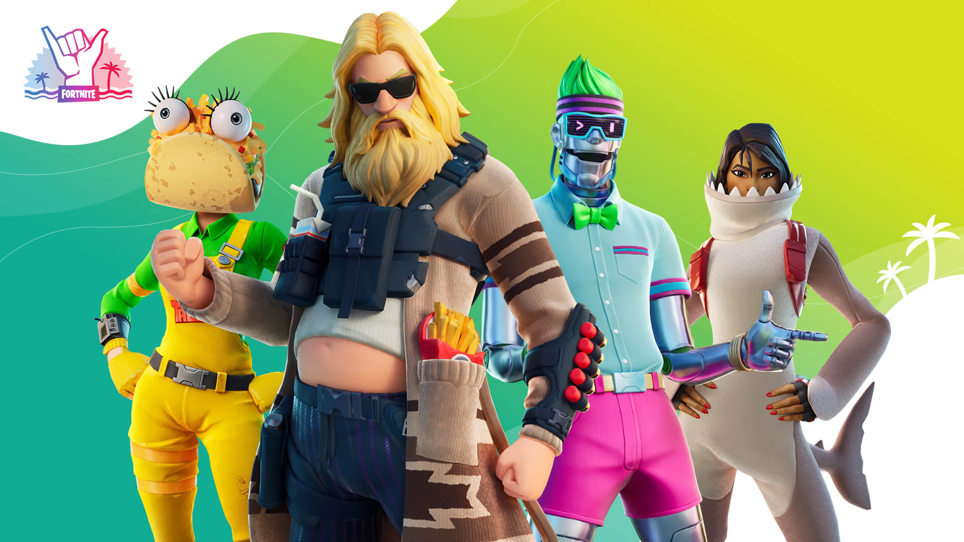 Fortnite Summer Splash Outfits