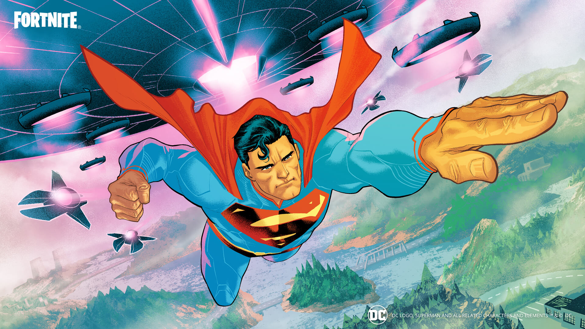 Fortnite The Last Son of Krypton Loading Screen