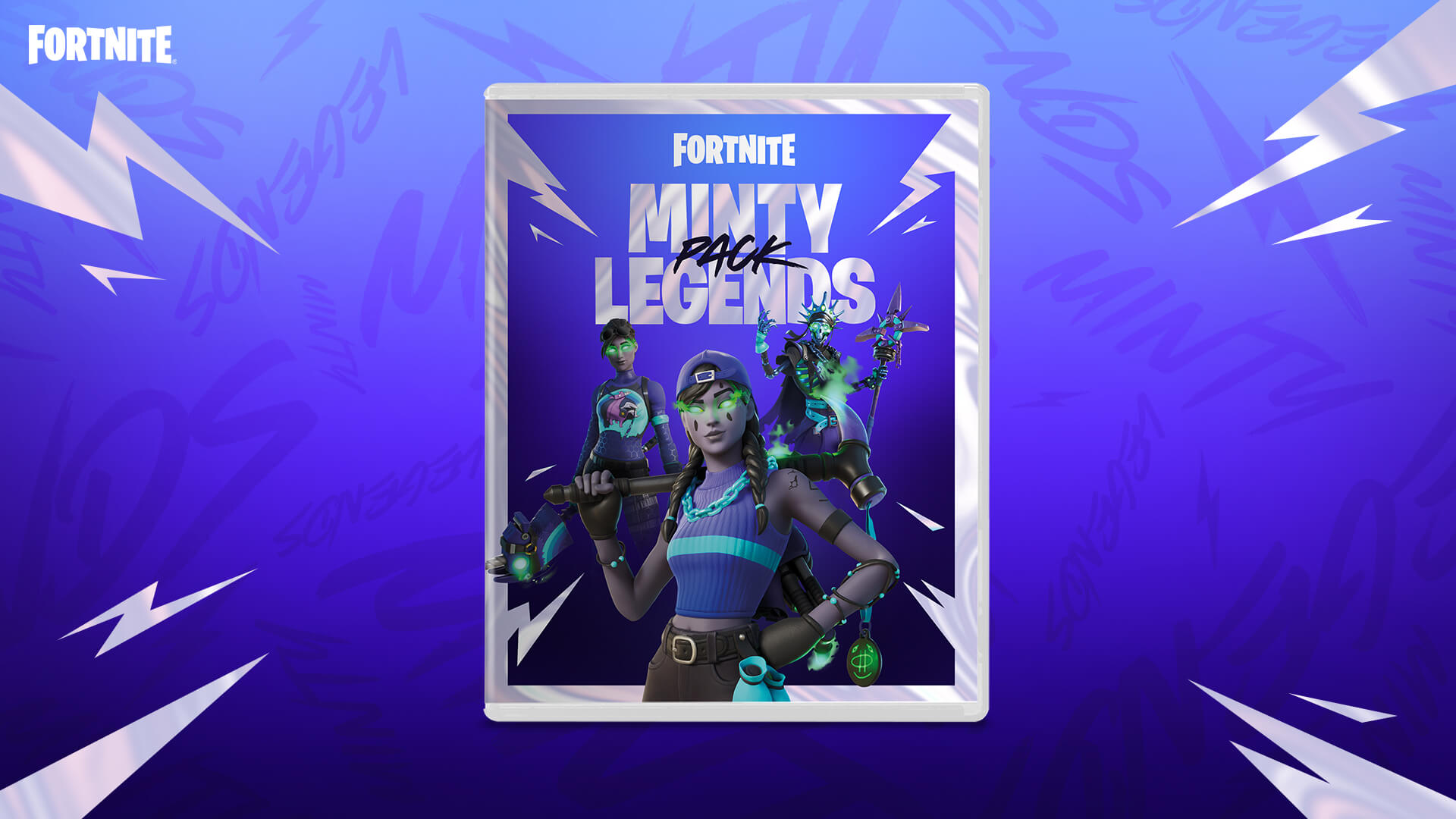 Fortnite The Minty Legends Pack