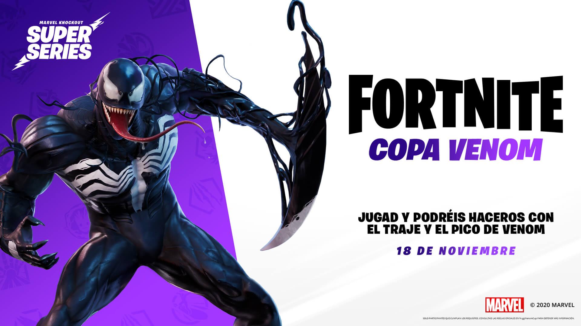 Fortnite Venom Outfit Es Es