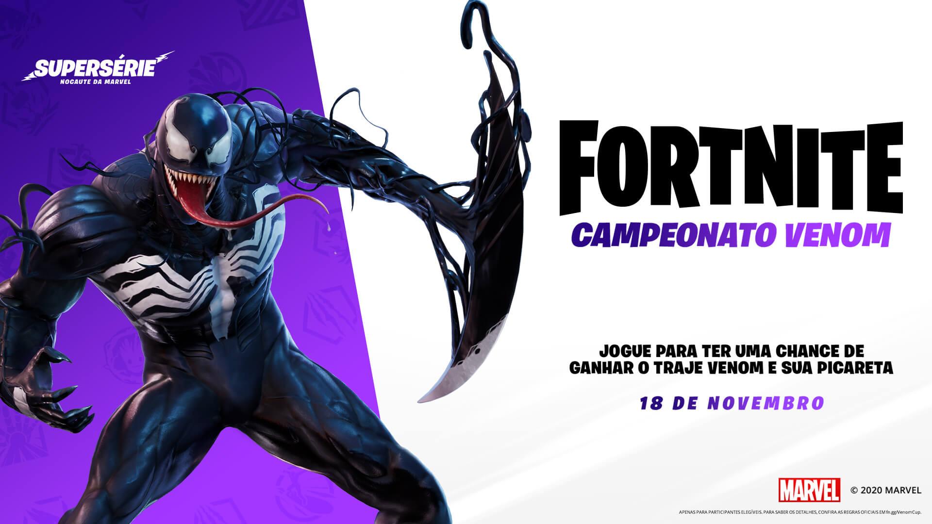 Fortnite Venom Outfit Pt Br