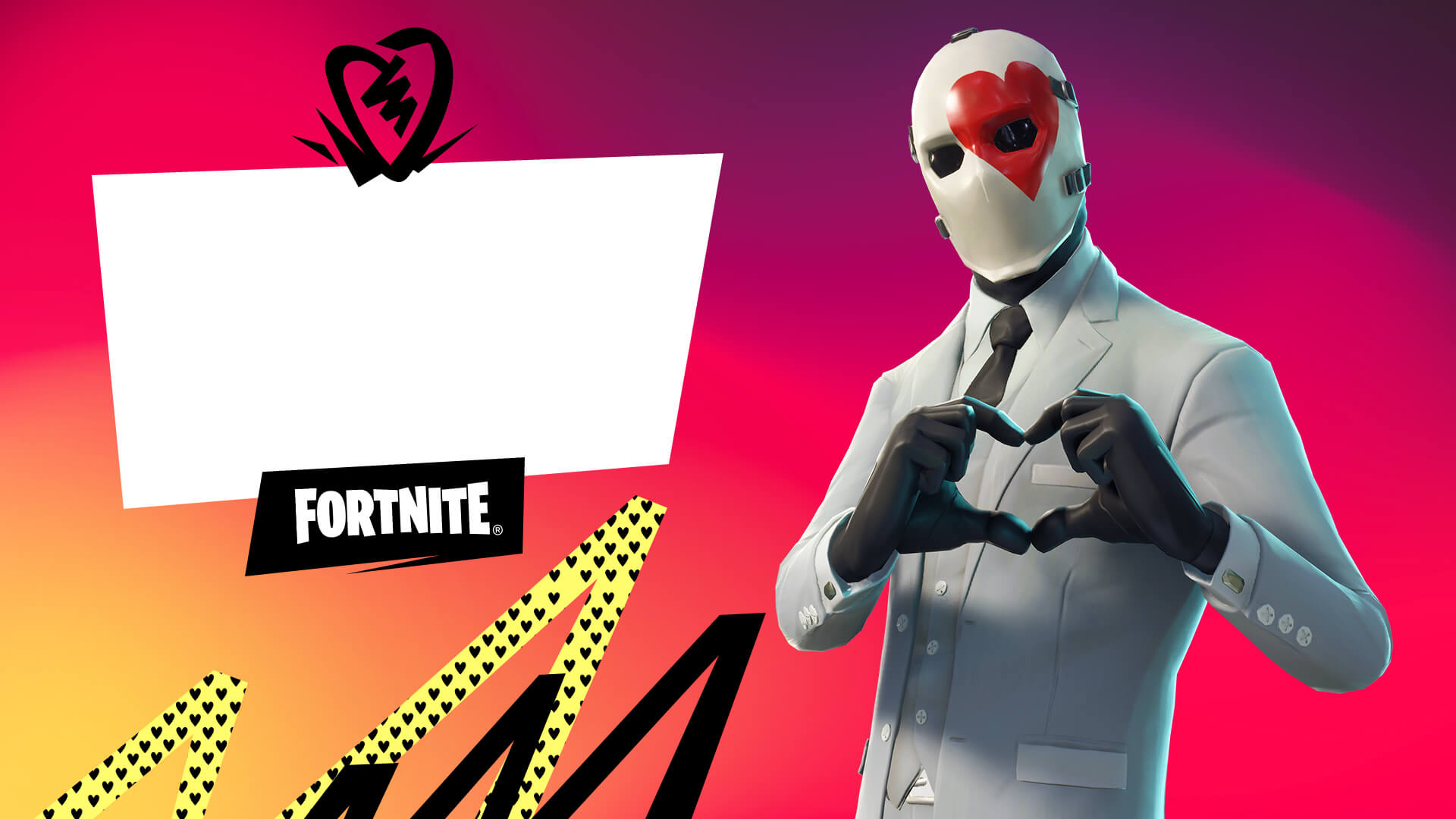 Fortnite Wild Card Valentines Card