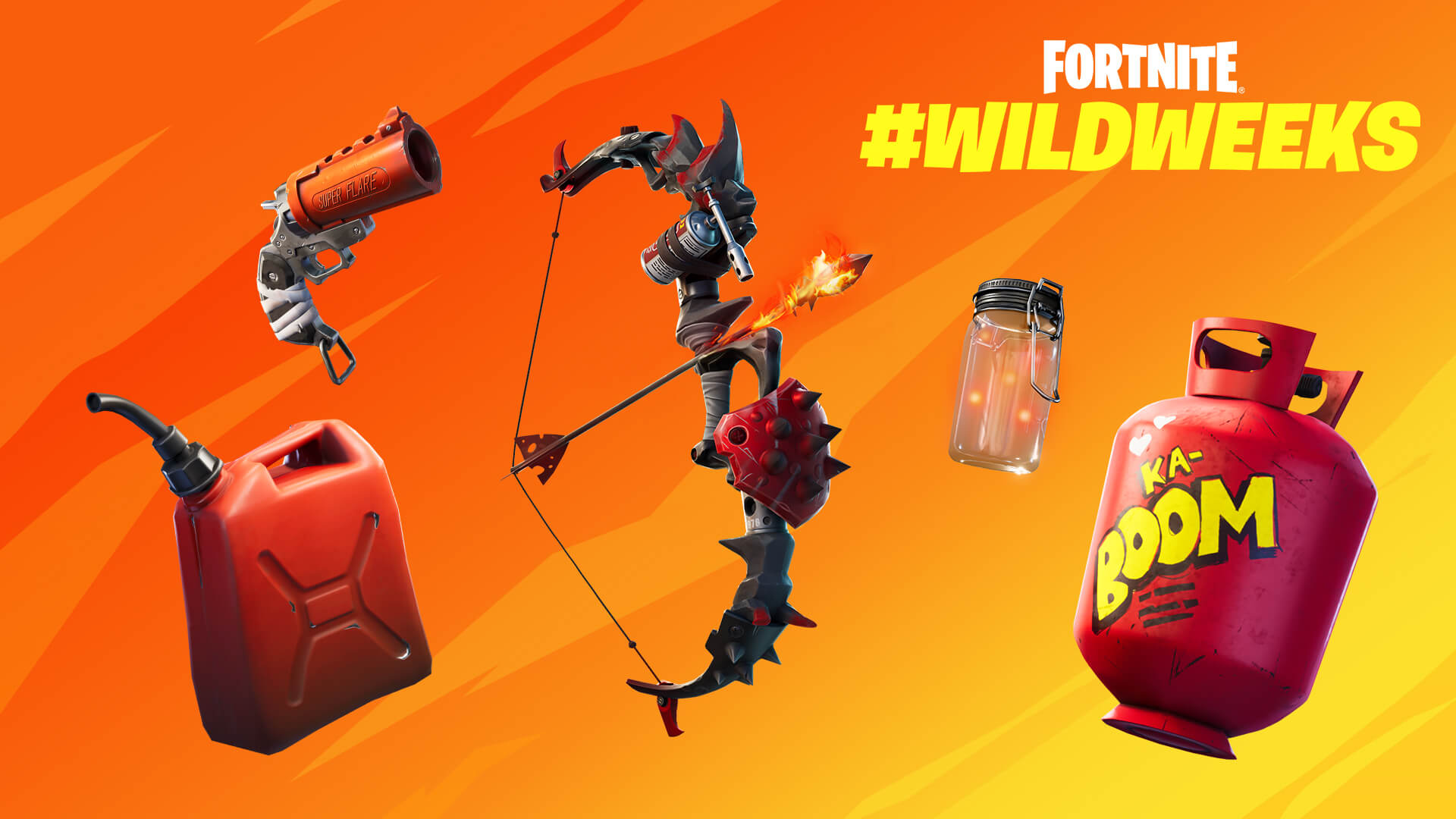 Fortnite Wild Weeks Fighting Fire with Fire