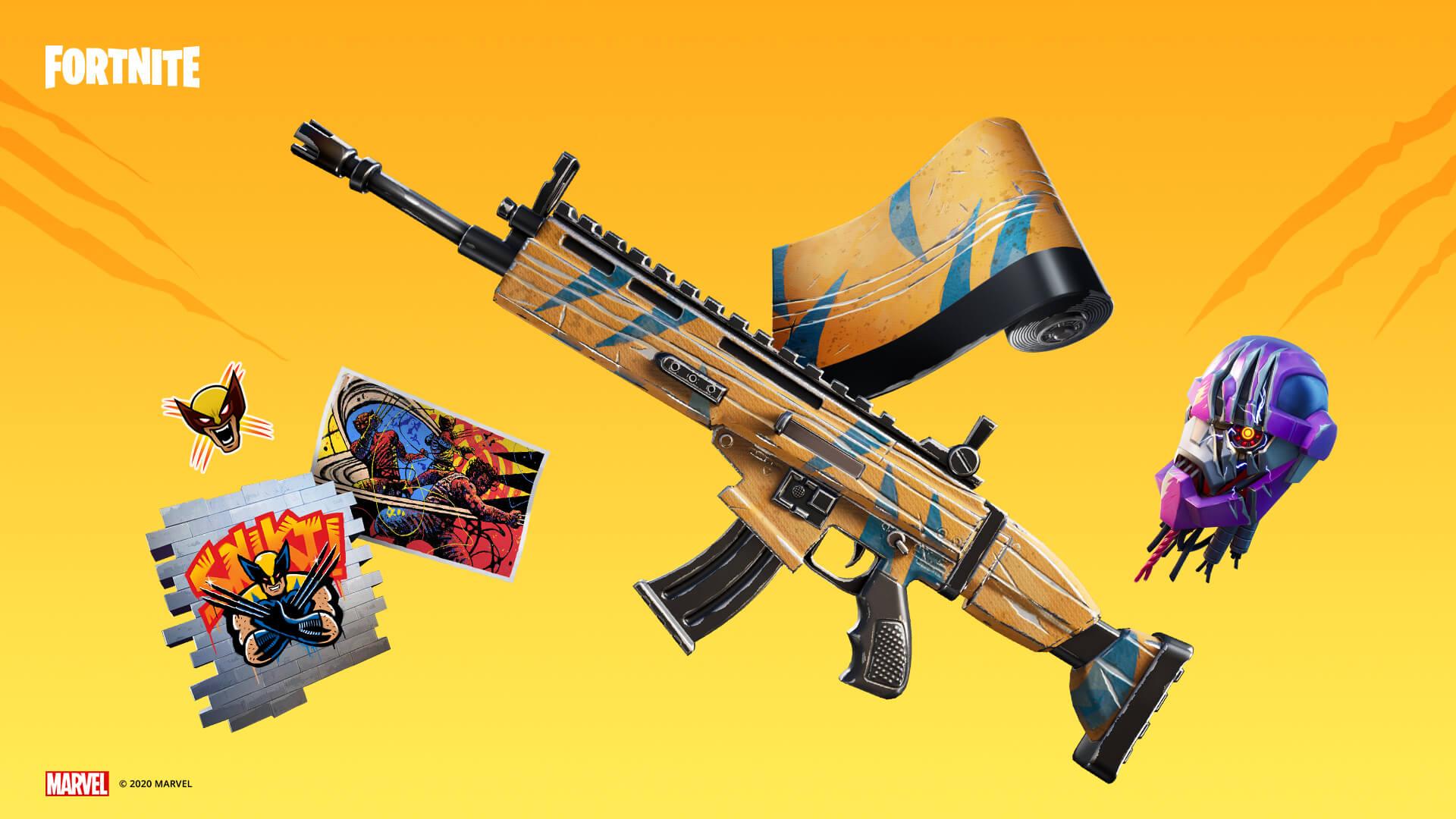 Fortnite Wolverine Items