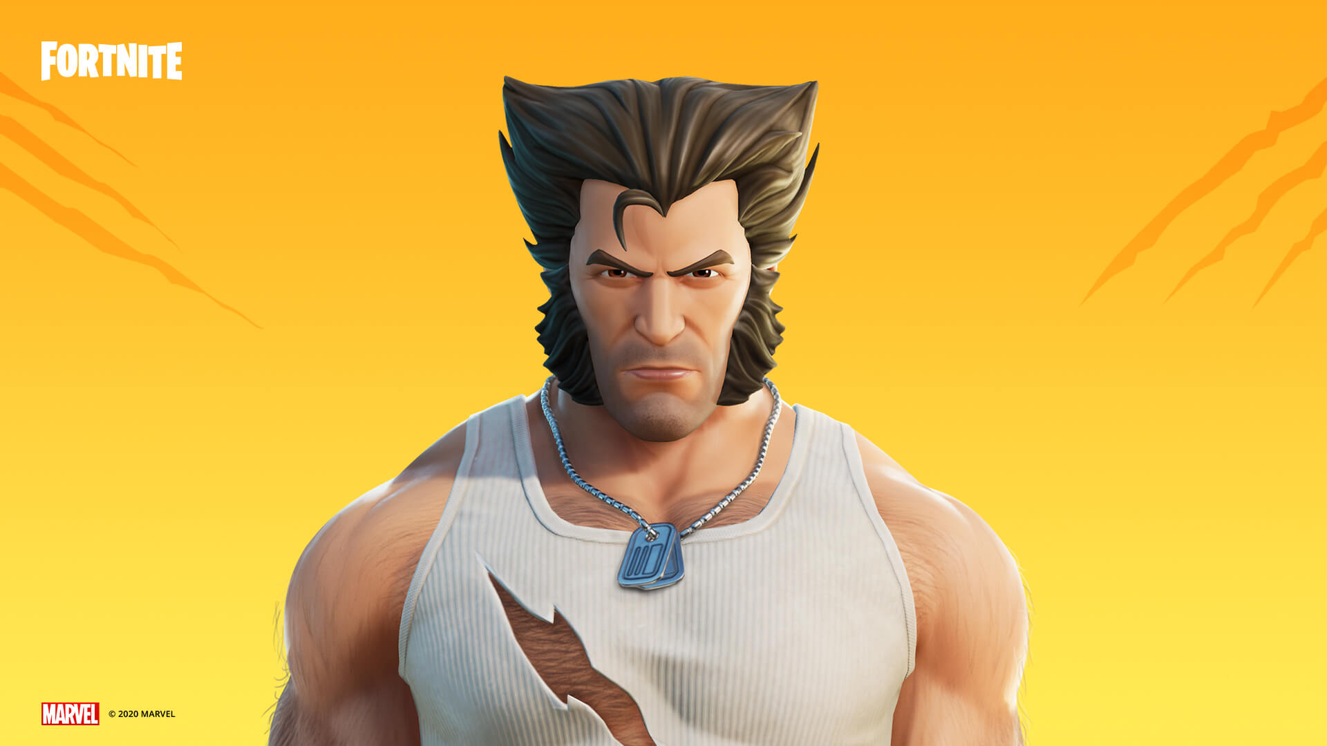 Fortnite Wolverine Outfit Logan Style