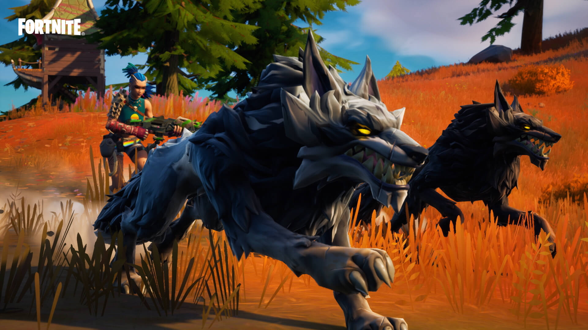 Fortnite Wolves