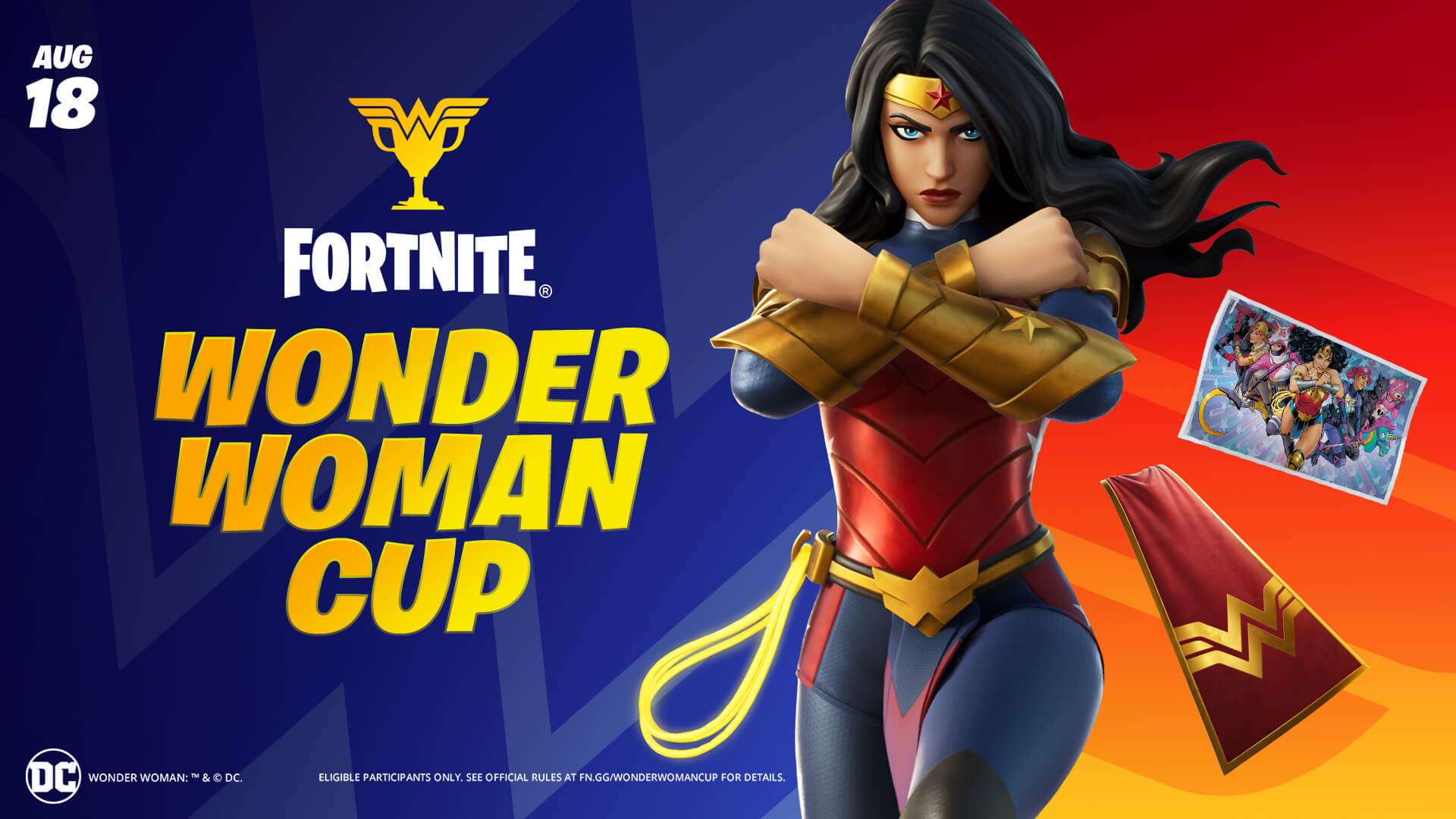 Fortnite Wonder Woman Outfit And Items