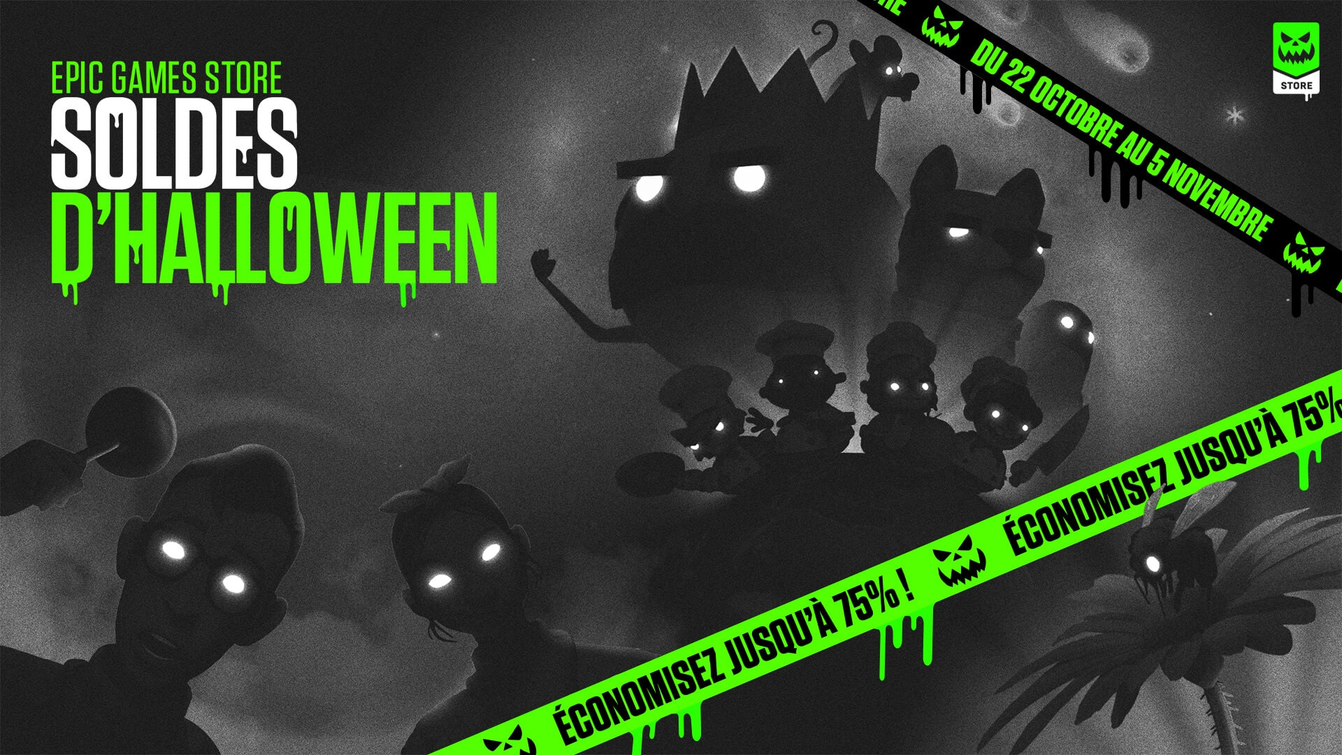 Halloween Sale Epic Game Store