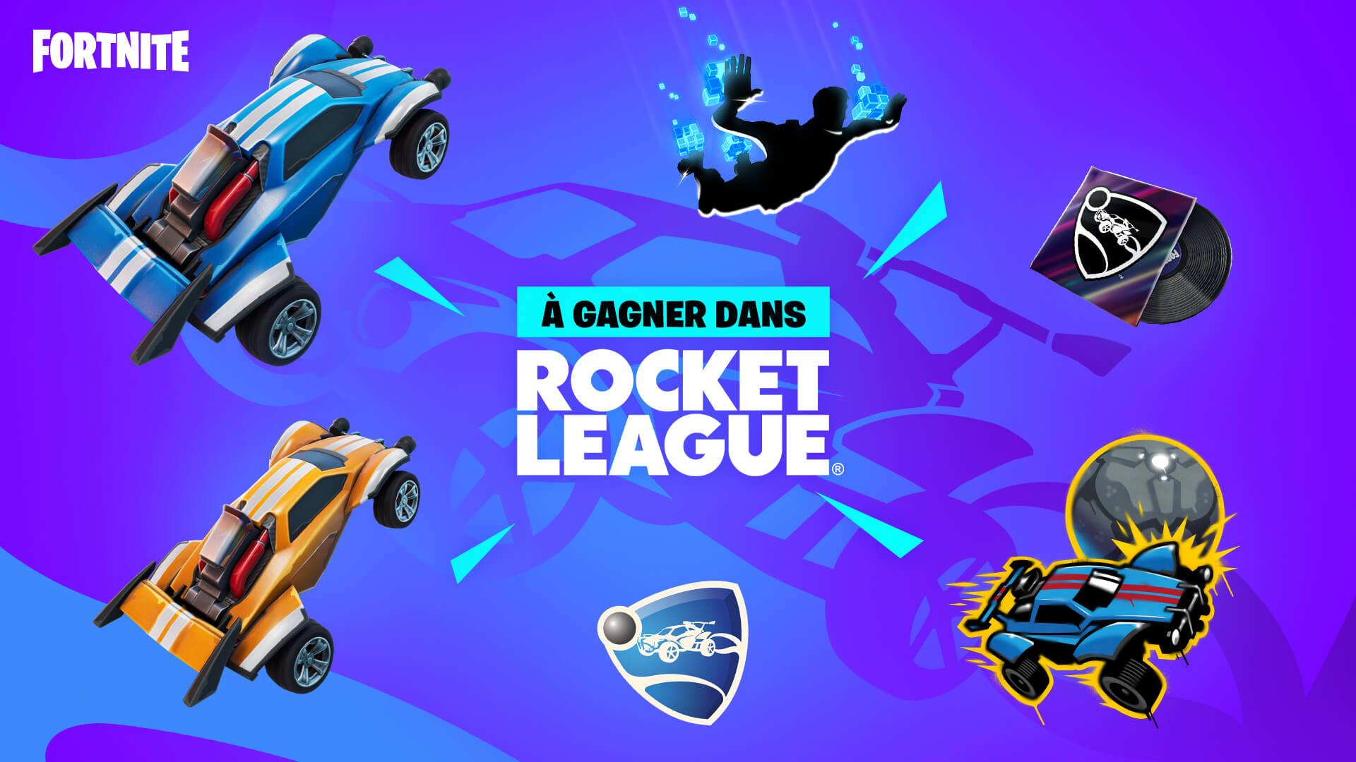 FR Rocket League Fortnite Challenges And Rewards