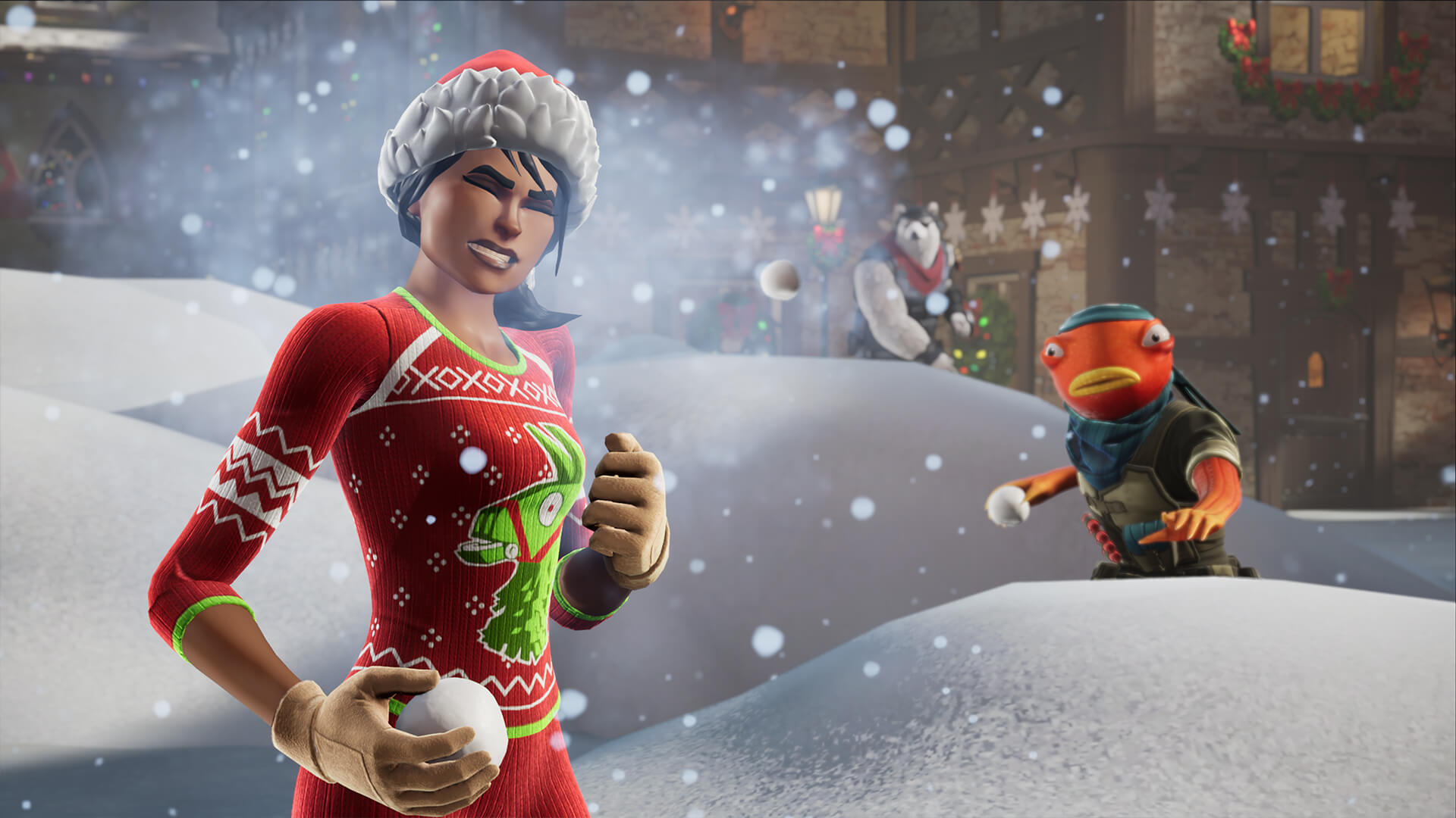 Frosty Fortnite Snowball Fight By Ritual