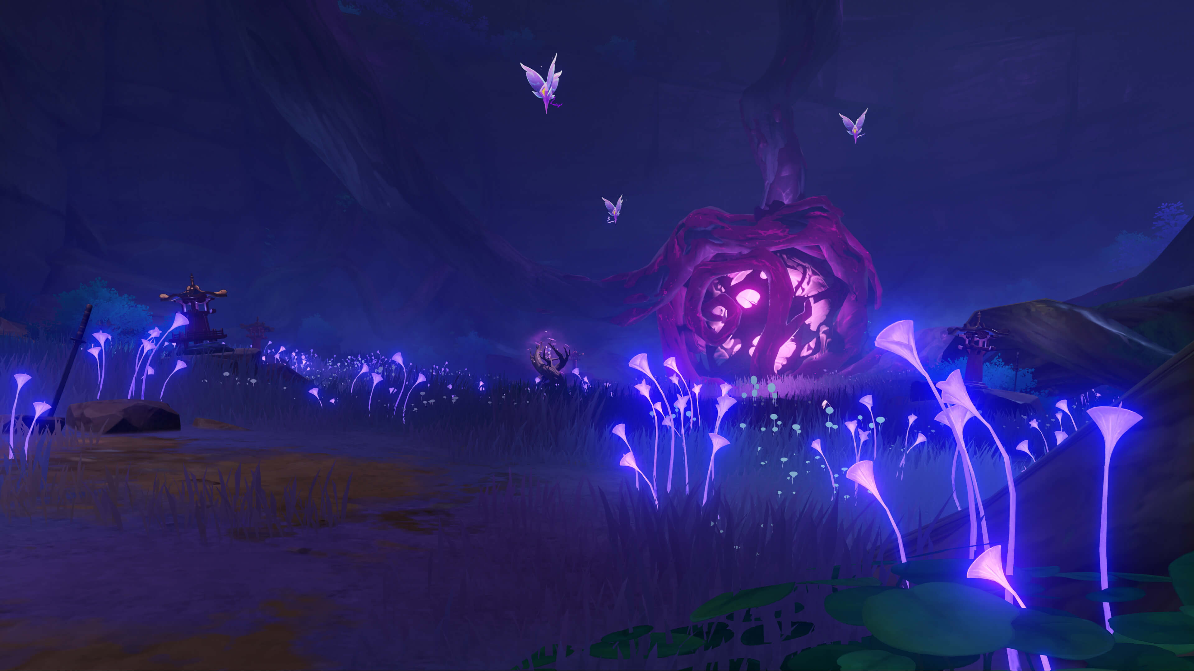 Genshin Impact 电子紫