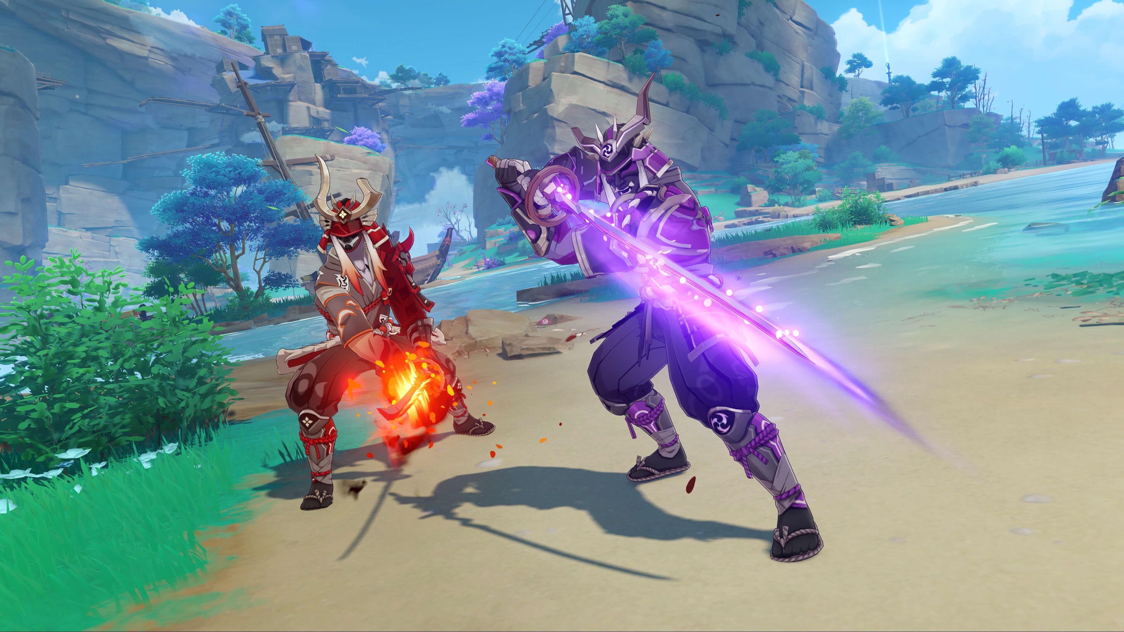 Genshin 冲击武器紫色