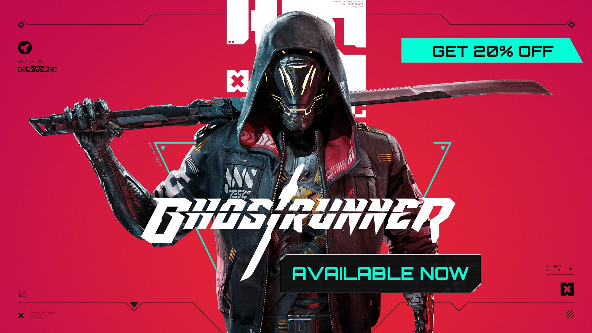 Ghostrunner available discount