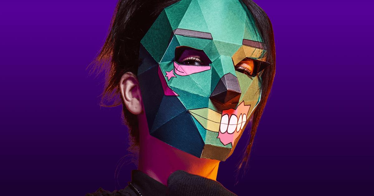 Máscara de Soldado demonio