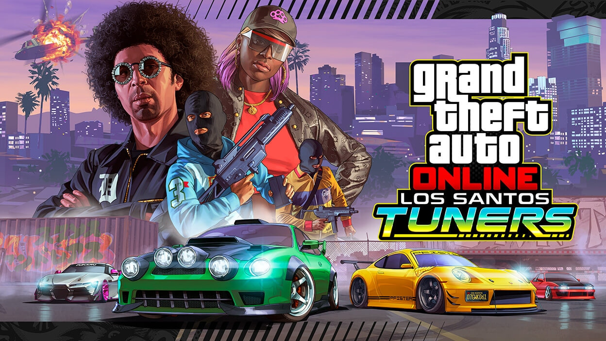 Play Grand Theft Auto Online on Epic Games Store