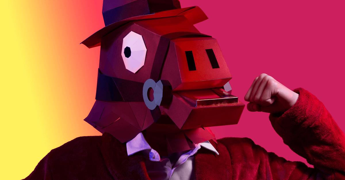 Máscara de Rompecorazones