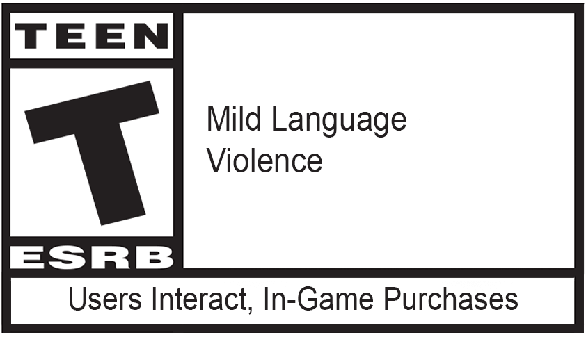 Classification du jeu : TEEN