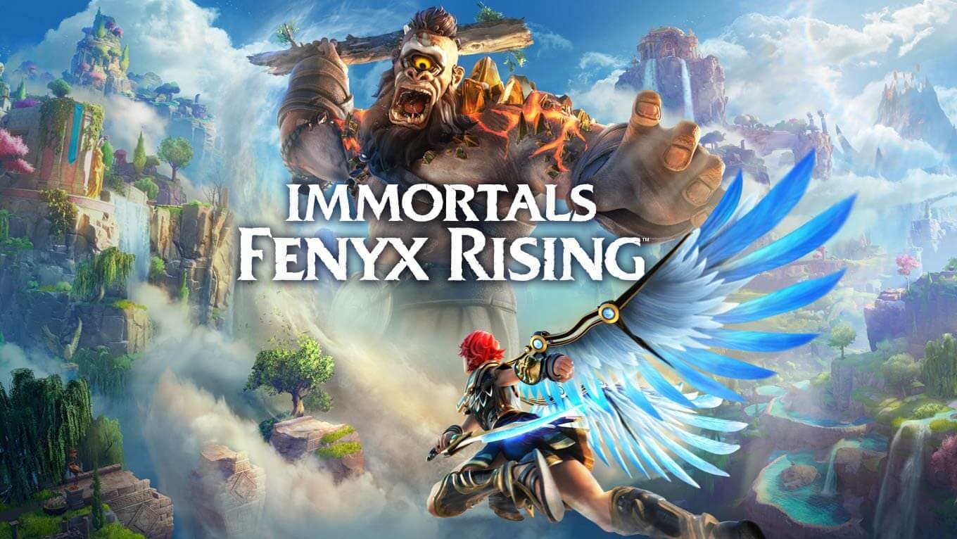Immortals Fenyx Rising on the Epic Games Store