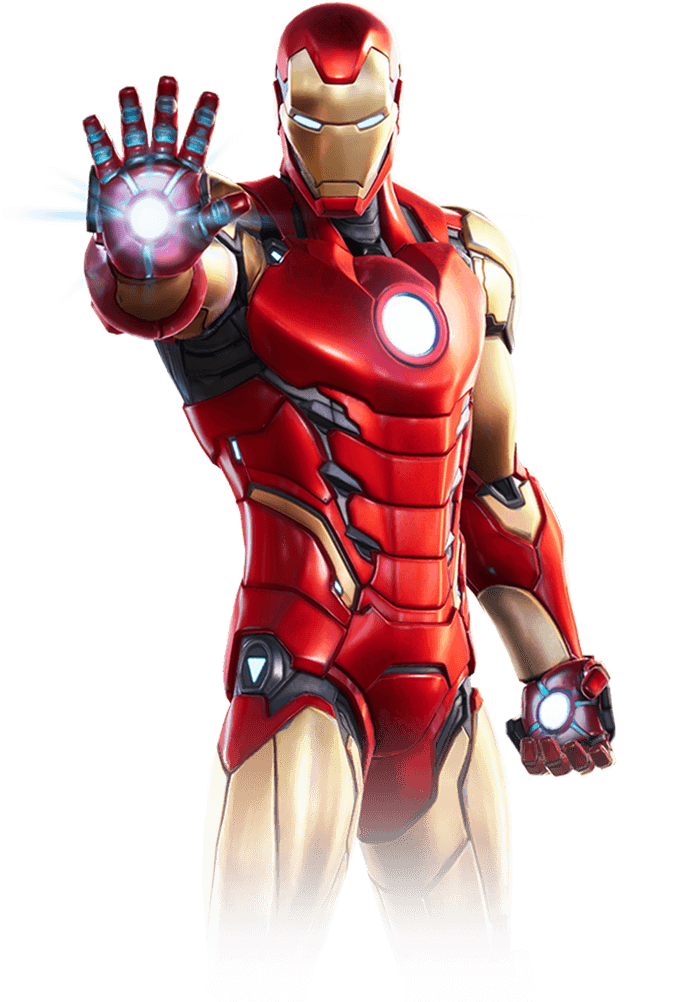 Costume di Iron Man di Fortnite