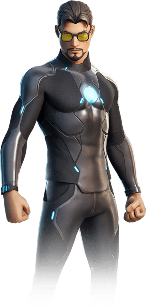 Costume di Tony Stark di Fortnite