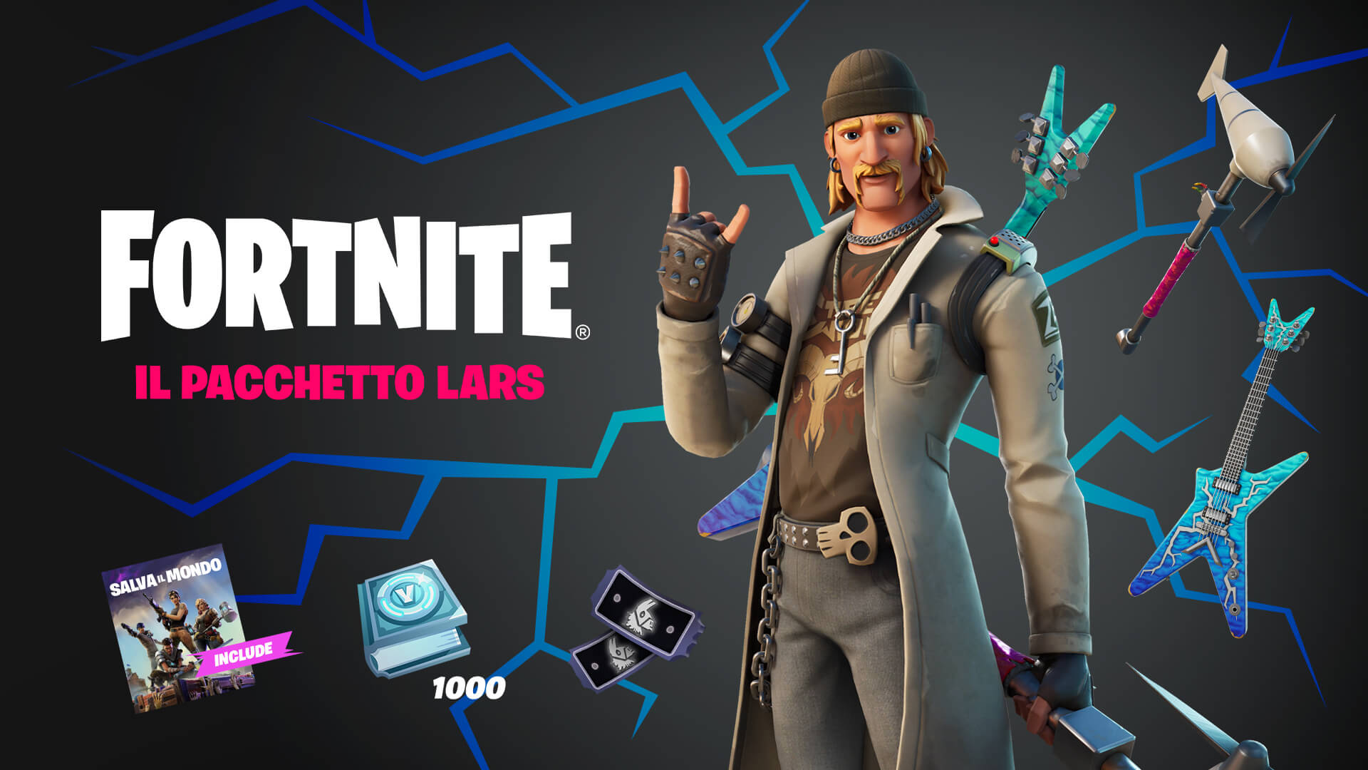 IT Fortnite Save the World Lars Pack