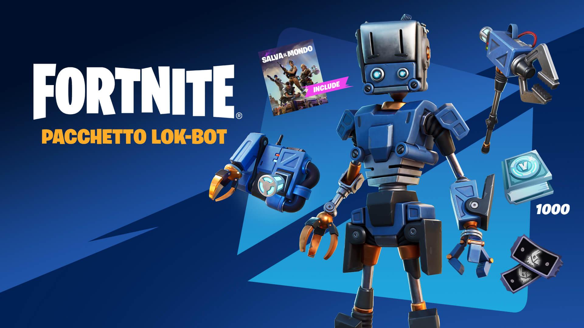 It Fortnite Save The World Lok Bot Pack