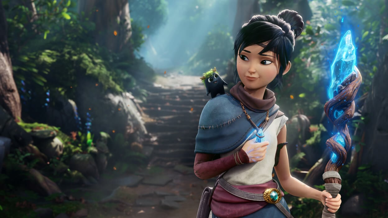 Kena: Bridge of Spirits is available to pre-purchase on the Epic Games Store
