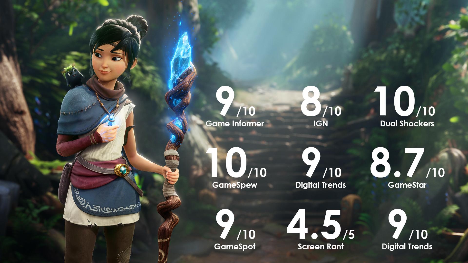 Play Kena: Bridge of Spirits on Epic Games Store