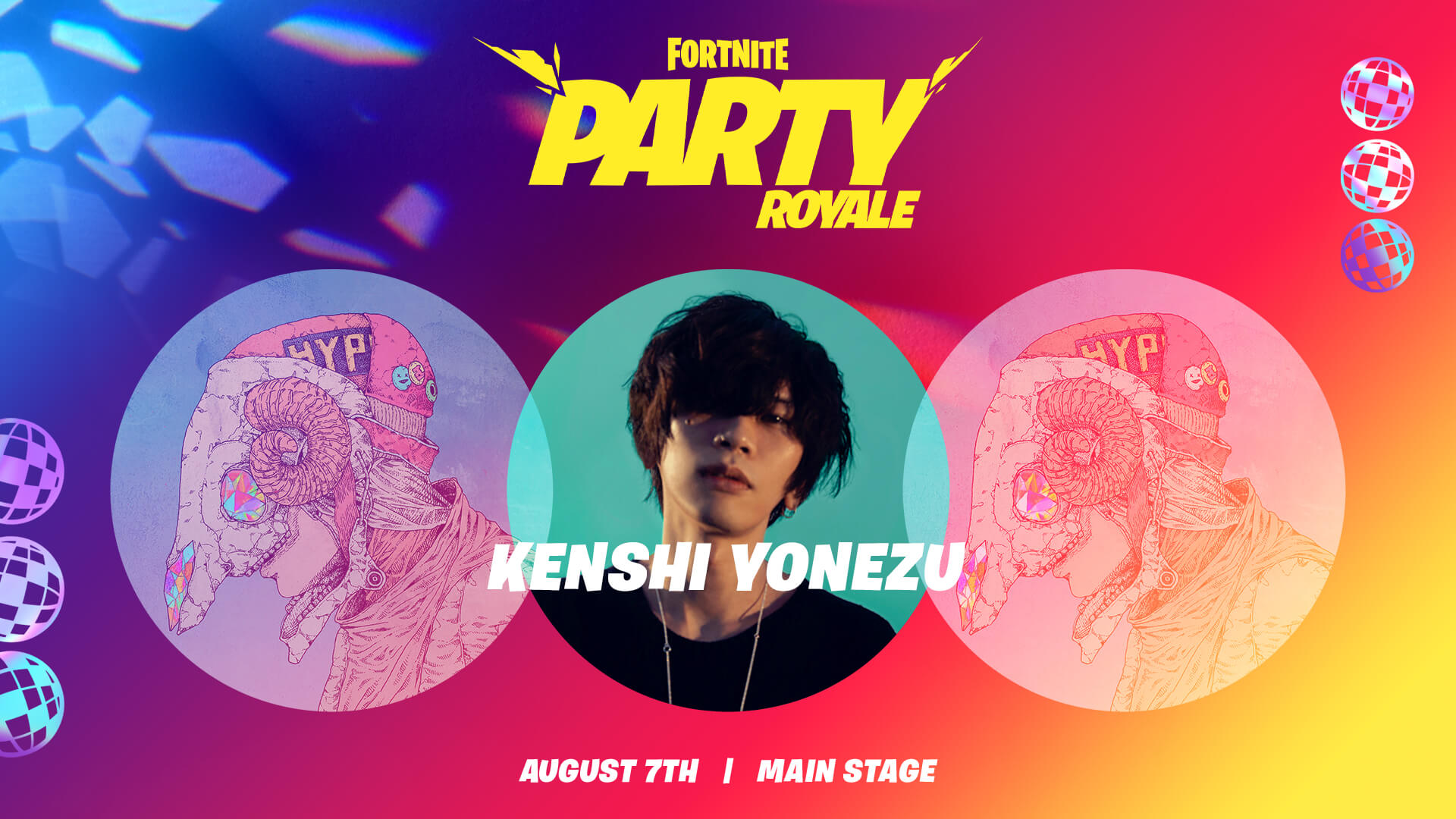 Kenshi Yonezu Fortnite Party Royale