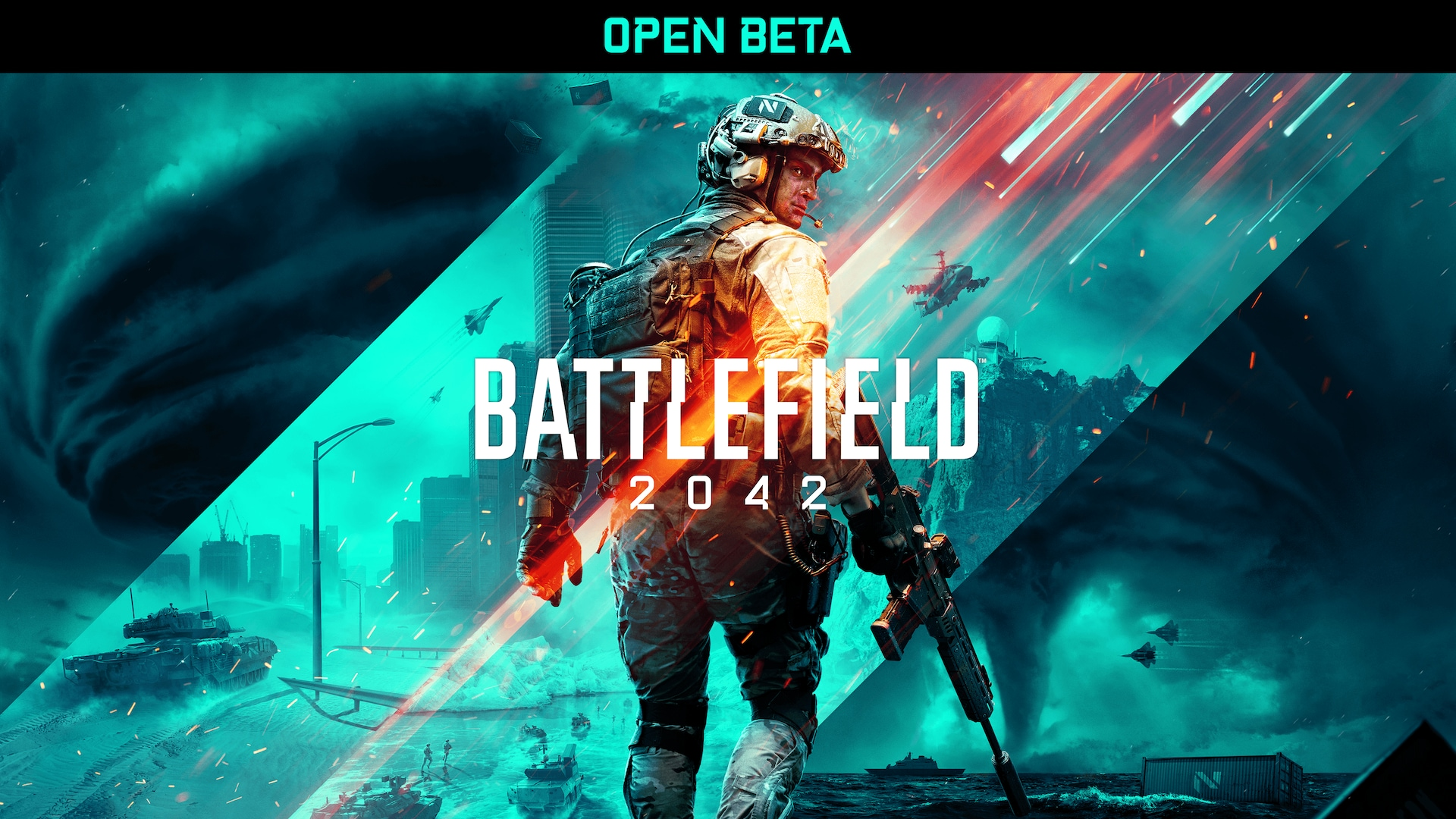 Play Battlefield 2042 Open Beta on Epic Games Store.