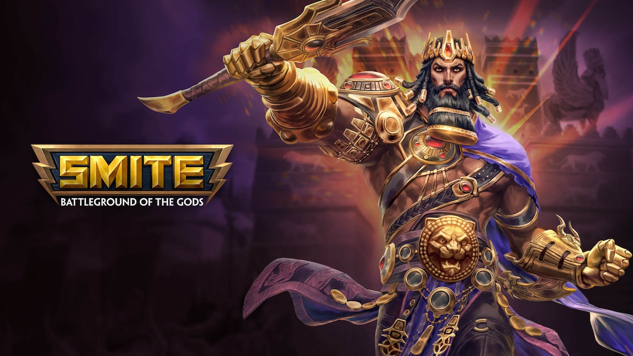SMITE - Atualização Gilgamesh