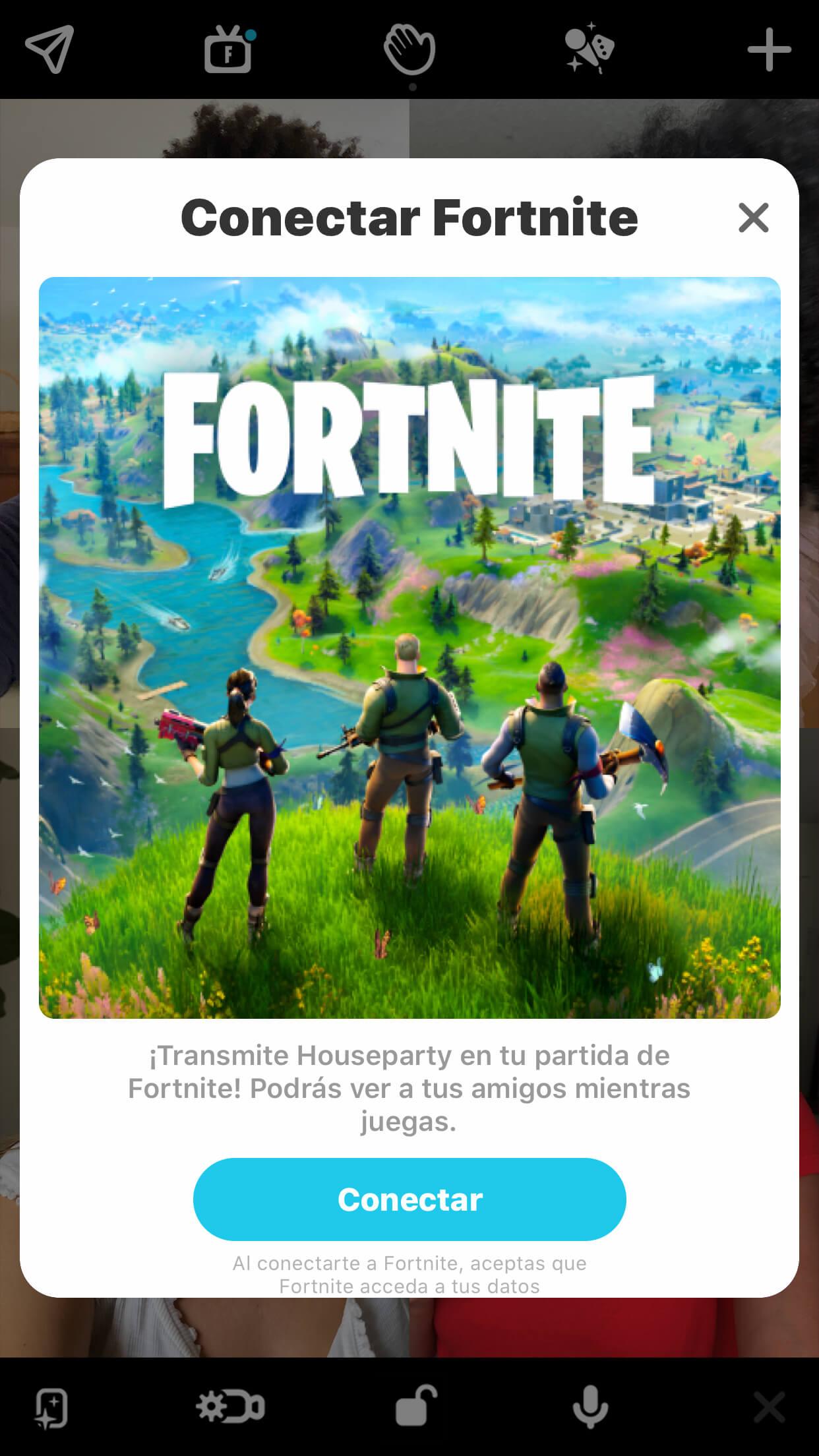 Link Houseparty To Fortnite Es Es