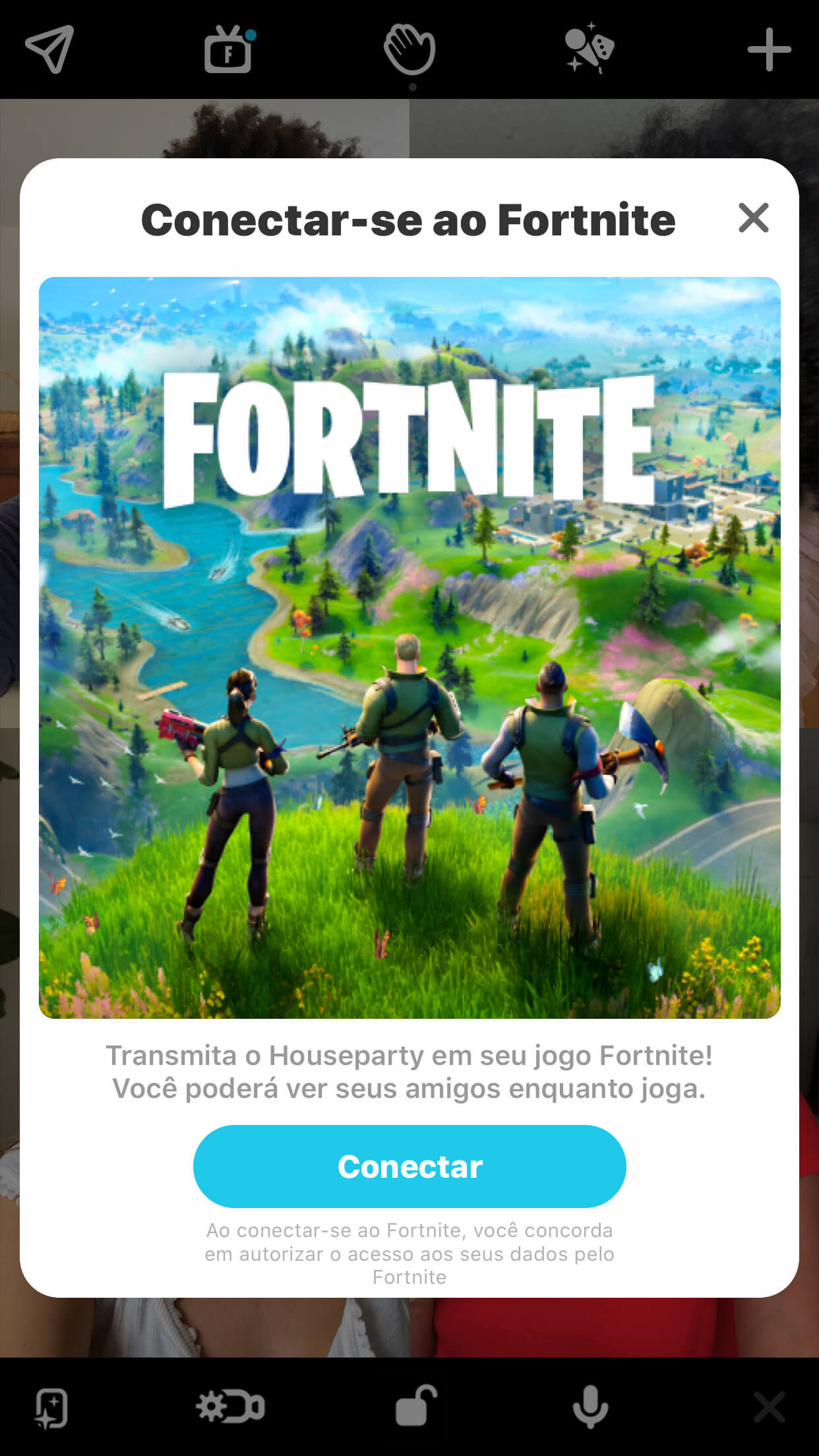 Link Houseparty To Fortnite Pt Br