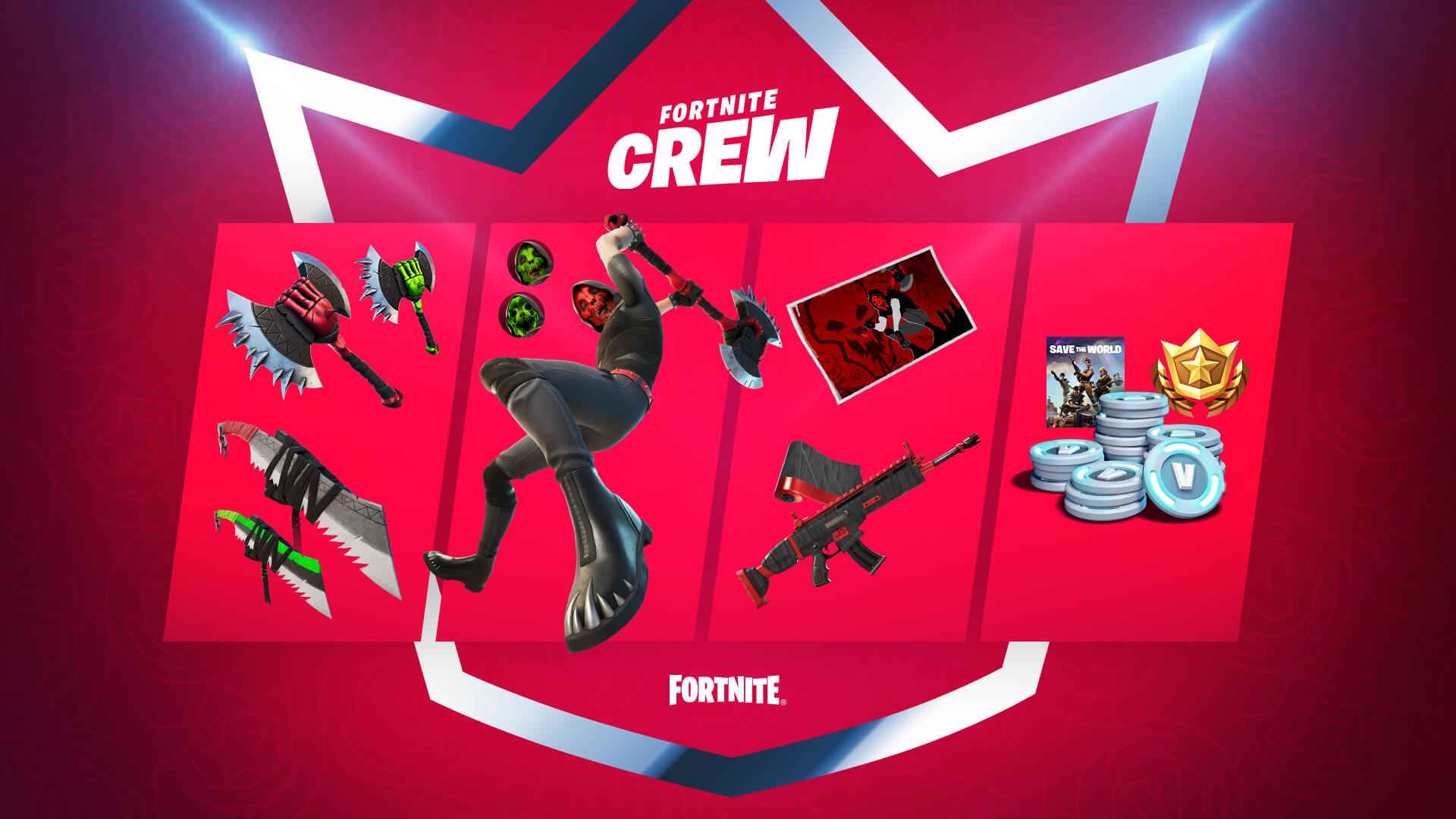May Fortnite Crew Benefits