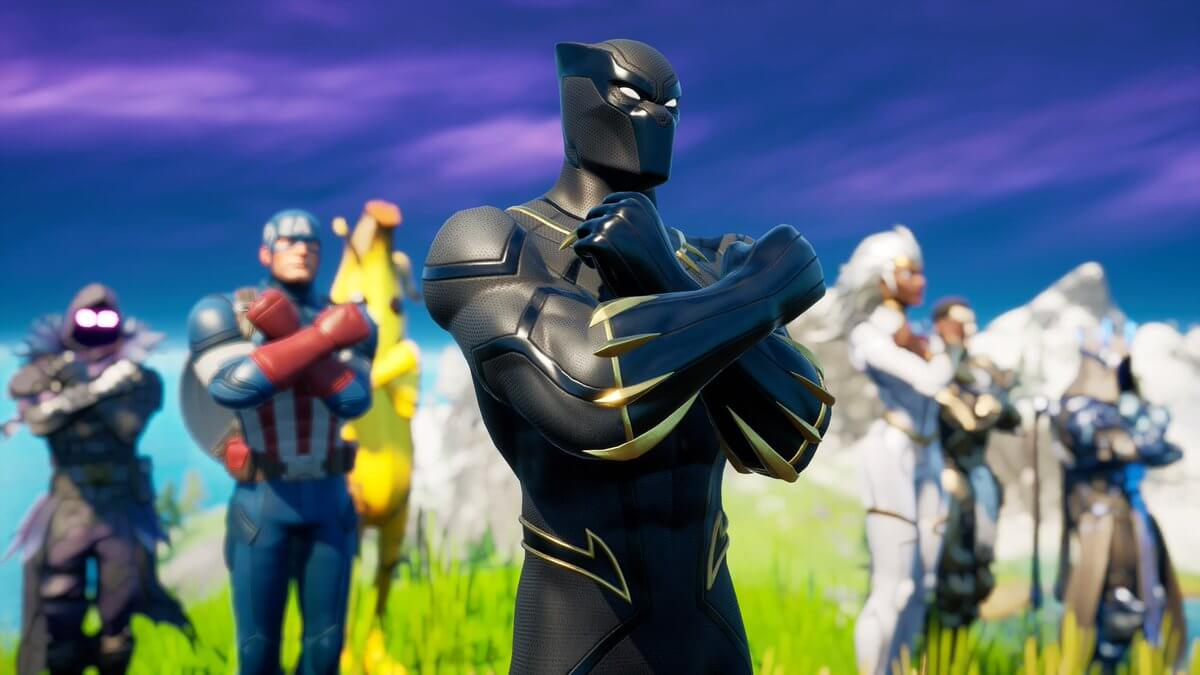 Okota_or Wakandan Salute Fortnite Fortography