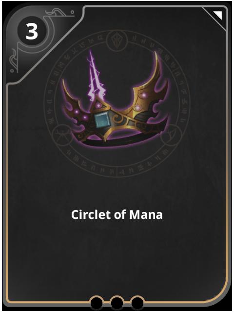 Circlet Of Mana