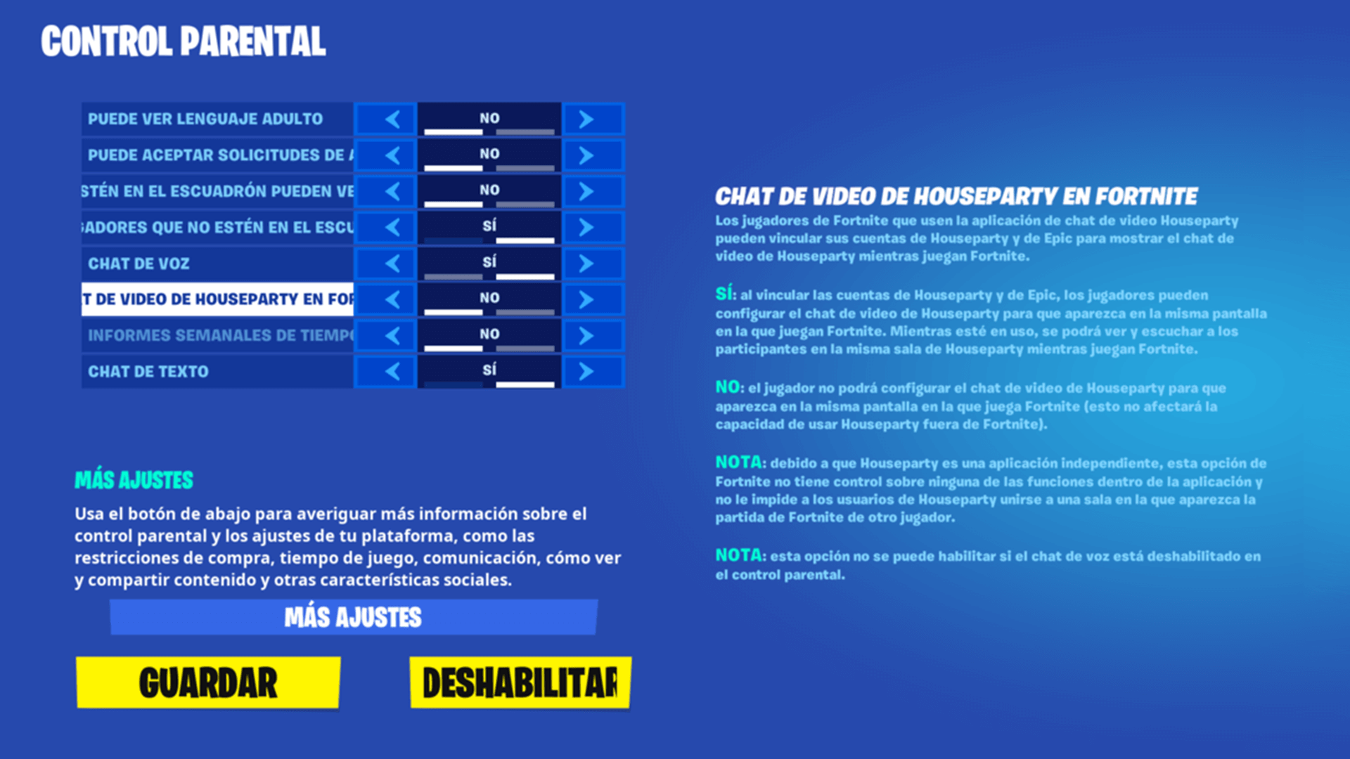 Parental Controls For Fortnite Houseparty Video Chat Es Mx
