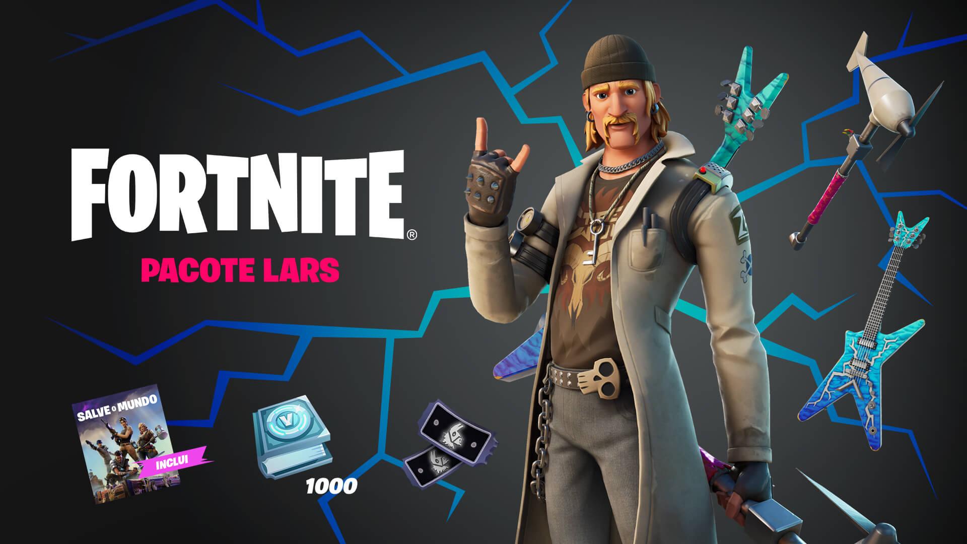 PTBR Fortnite Save the World Lars Pack