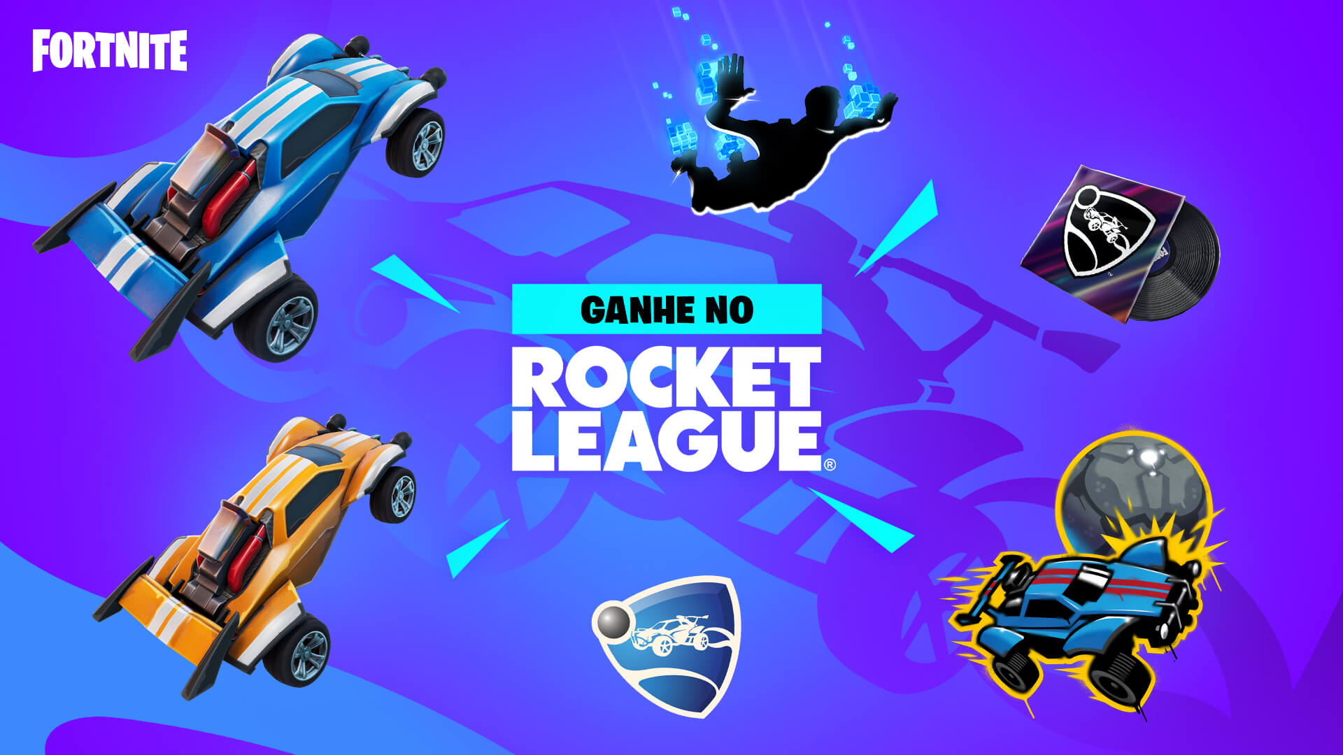 PT BR Rocket League Fortnite Challenges And Rewards