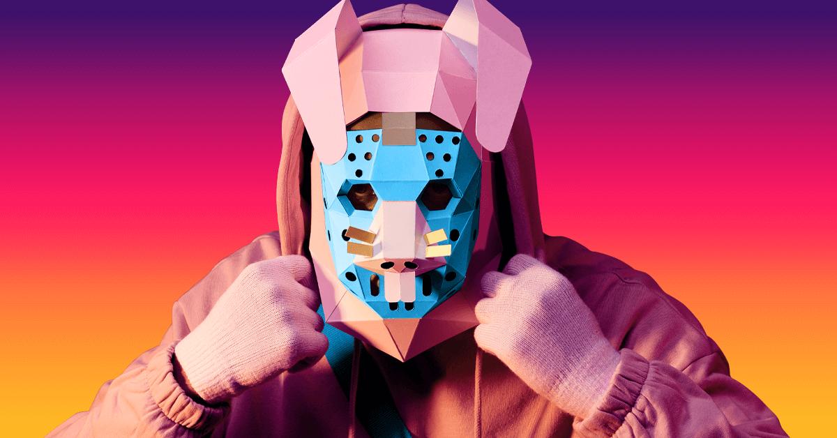 Máscara de Conejo saqueador